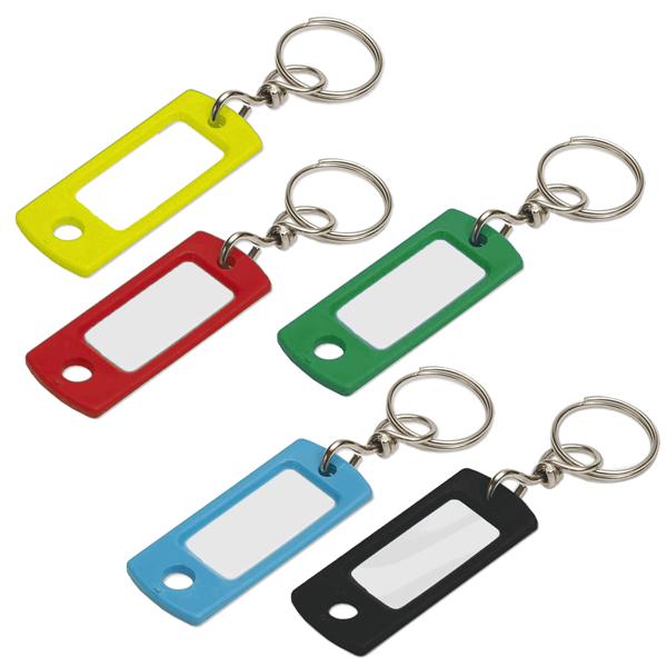 Plastic Key Id Tag With Swivel Bulk Each