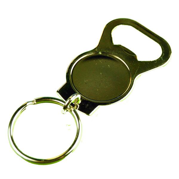 bottle opener key chain for customization. Black Bedroom Furniture Sets. Home Design Ideas
