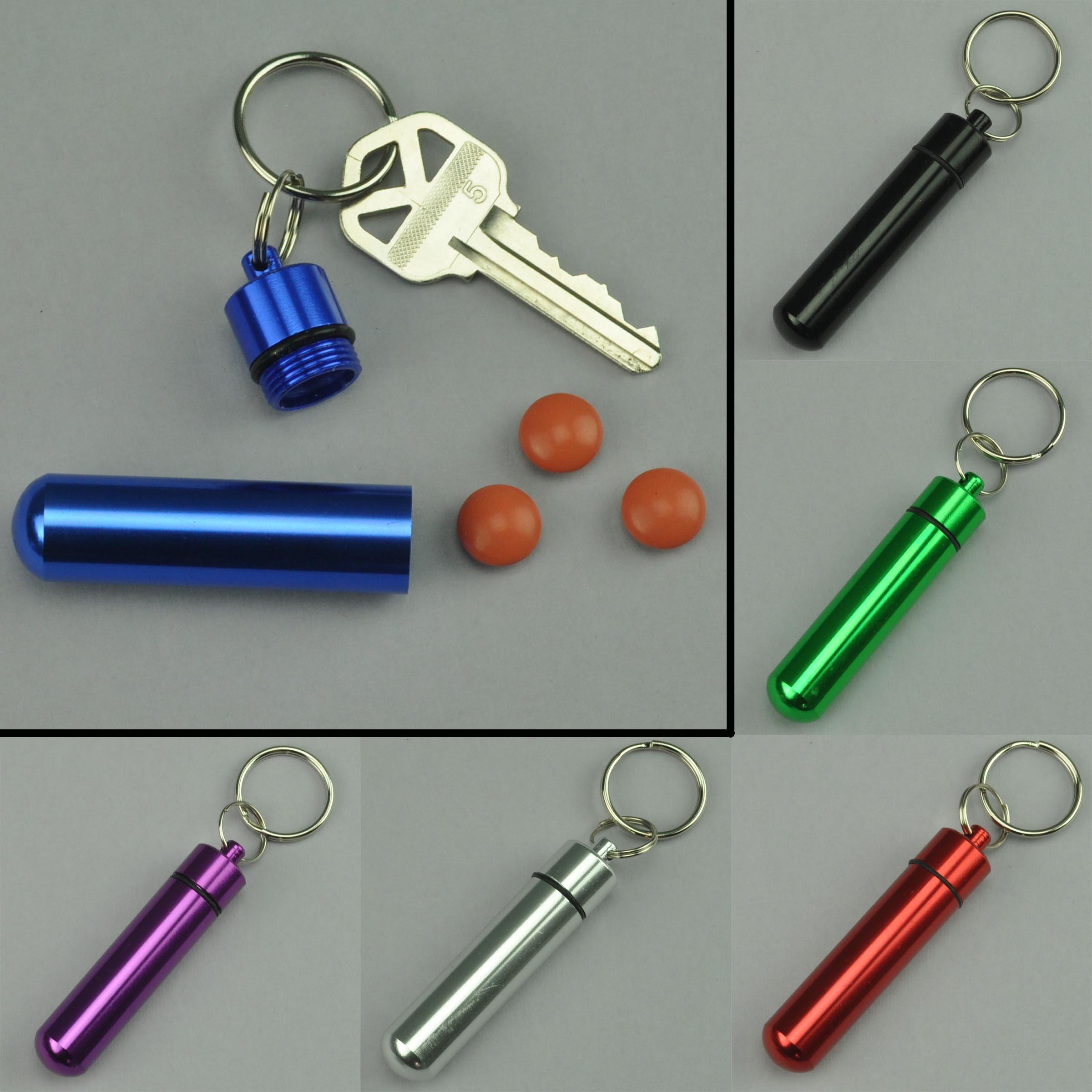 Key Ring Pill Holder