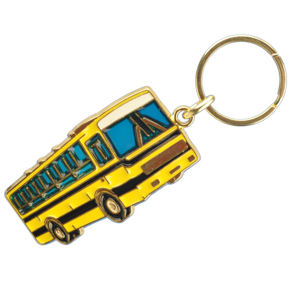 School Bus Stained Glass Key Chain f762cdd0c
