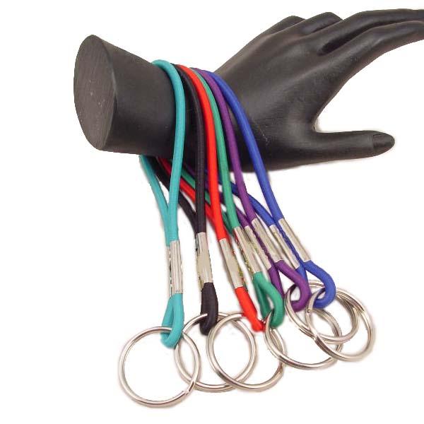 Elastic Wrist Key Holder Bathers Band Ankle Keychain