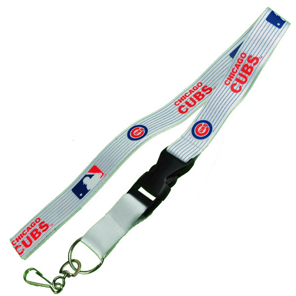 Lovely Chicago Cubs Logo Lanyard Keychain XY76