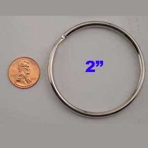 split key ring 2 inch china